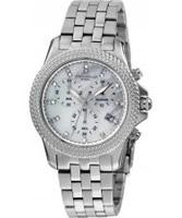 Buy Dilligaf Ladies Chronograph Crystals Watch online