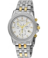 Buy Dilligaf Ladies Steel Crystals Silver Watch online