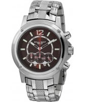 Buy Dilligaf Mens Chronograph Brown Watch online