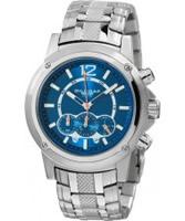 Buy Dilligaf Mens Chronograph Blue Watch online