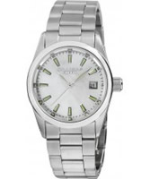 Buy Dilligaf Ladies Steel White Watch online
