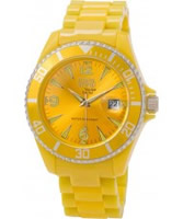 Buy Dilligaf Neon Yellow Watch online