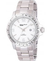 Buy Dilligaf Mens Steel White Watch online