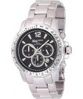 Buy Dilligaf Mens Chronograph Black Watch online