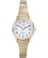 Buy Timex Ladies White Gold Watch online