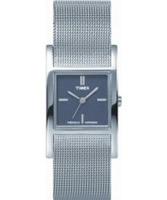 Buy Timex Ladies Black Silver Watch online