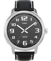 Buy Timex Mens Black Easy Reader Watch online