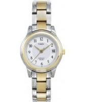 Buy Timex Ladies Classic Two Tone Steel Watch online