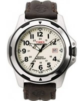 Buy Timex Mens Expedition Cream Brown Watch online