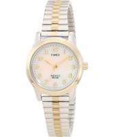 Buy Timex Ladies Pearl Two Tone Watch online