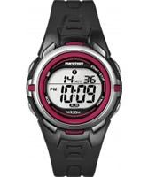 Buy Timex Ladies Marathon Black Resin Strap Digital Watch online
