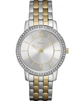 Buy Timex Ladies Classics Two Tone Metal Bracelet Watch online