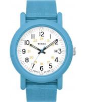 Buy Timex Originals Mens Originals White Dial Blue Strap Watch online