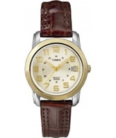 Buy Timex Ladies Classics Champagne Brown Watch online