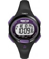 Buy Timex Ladies Ironman TRADITIONAL 10-LAP MID Black Purple Watch online