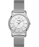 Buy Timex Ladies UPTOWN CHIC  Silver Mesh Watch online