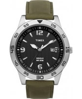 Buy Timex Mens Sport All Black Olive Watch online