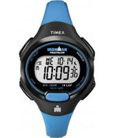 Buy Timex Ladies Ironman TRADITIONAL 10-LAP MID Black Blue Watch online