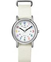 Buy Timex Ladies Style Weekender White Watch online
