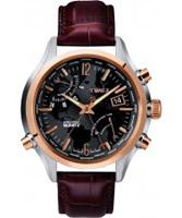 Buy Timex Intelligent Quartz Mens Brown World Time Watch online