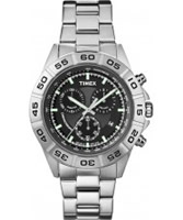 Buy Timex Mens Style Chrono Silver Watch online