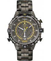 Buy Timex Intelligent Quartz Mens Grey Tide Temp Compass Watch online