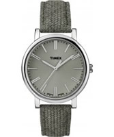 Buy Timex Ladies Originals Classic Green Leather Watch online