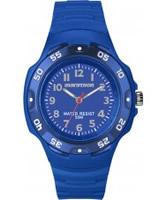 Buy Timex Marathon Oversize Blue Resin Strap Watch online