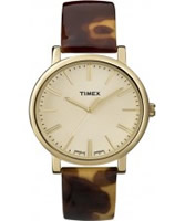 Buy Timex Ladies Classic Tortoise Leather Watch online