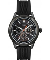 Buy Timex Mens Multi All Black Silicone Watch online