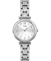 Buy Timex Ladies Chrome Multi Link Silver Watch online
