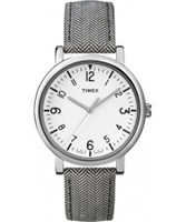 Buy Timex Classic Two Tone Stripe Leather Watch online