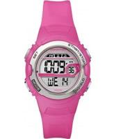 Buy Timex Ladies Marathon Bright Pink Resin Watch online