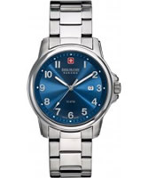 Buy Swiss Military Mens Blue Swiss Soldier Watch online