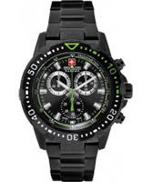 Buy Swiss Military Mens Black X-Treme Watch online