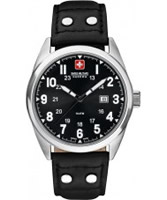 Buy Swiss Military Mens Black Sergeant Watch online