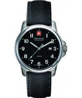 Buy Swiss Military Mens Black Swiss Recruit Watch online
