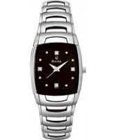 Buy Bulova Ladies Diamond Black Watch online
