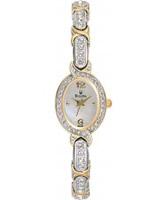 Buy Bulova Ladies Crystal White Gold Watch online
