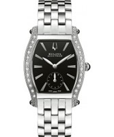 Buy Bulova Accutron Ladies Saleya Black Silver Watch online