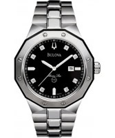 Buy Bulova Mens Marine Star Diamond Watch online