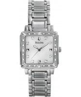 Buy Bulova Ladies Diamonds Silver White Watch online