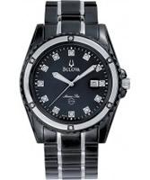 Buy Bulova Mens Marine Star Diamond Watch online