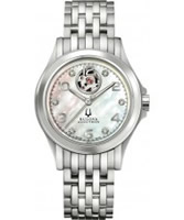 Buy Bulova Accutron Ladies Kirkwood Silver Watch online