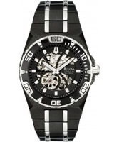 Buy Bulova Mens Bva Series Black Watch online