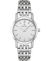 Buy Bulova Ladies Dress All Silver Watch online