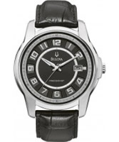 Buy Bulova Mens Precisionist Claremont Black Watch online