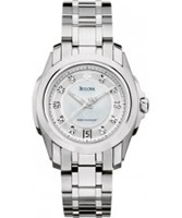 Buy Bulova Ladies Precisionist Silver Watch online