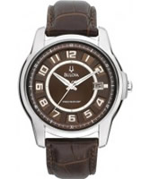 Buy Bulova Mens Precisionist Brown Watch online