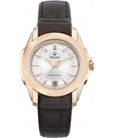 Buy Bulova Ladies Precisionist Brown Watch online